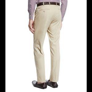 Peter Millar Pants - VGUC Peter Millar Twill Trousers Light Stone 32/30